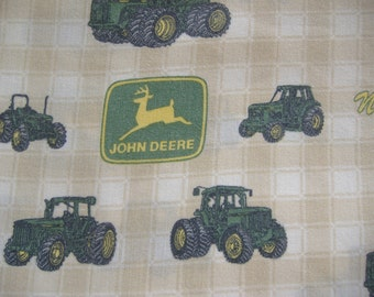 John Deere Full Size (Double Bed) Flat Bedsheet