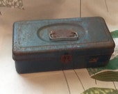 Vintage tool or tackle box