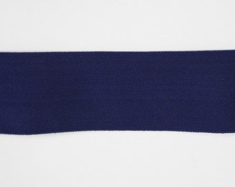 2 Inch Waistband Elastic in Navy from Riley Blake