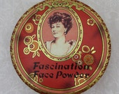 Fascination Face Powder Tin - ca 40s