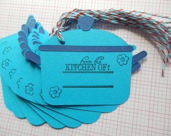 Pots and Pans Tag - From the kitchen of - gift/hang tags (8)