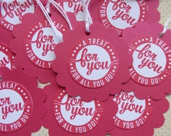 A treat for all you do - Sweet Treats Tags (10)