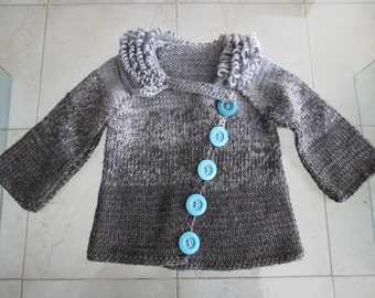 Stylish baby boy sweater