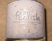 Mystery Pahlish - porcelain cream with mixed glitters
