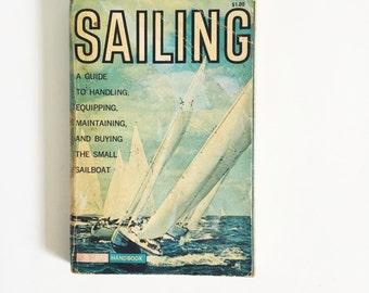 Vintage, Golden Guidebook, Sailing, Handbook, 1961, Second Printing, Pocket Guidebook