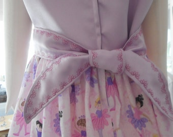 girl dress ballerina dress couture dress pink and purple dress