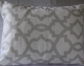 CLEARANCE Premier Prints Gray Sheffield pillow cover