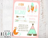 Reserved tribal baby shower