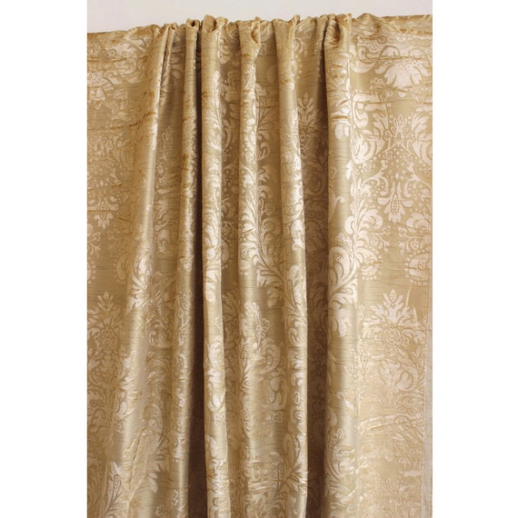 the best 28 images of damask gold curtains