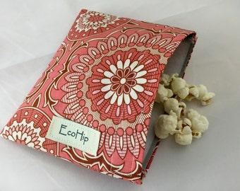 Reusable Snack Bag - Joel Dewberry Coral