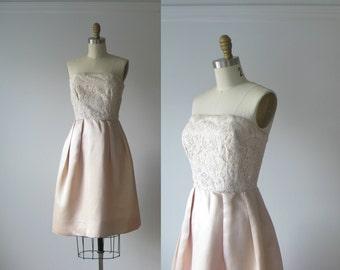 vintage 1960s dress / 60s dress / Precious Pearl