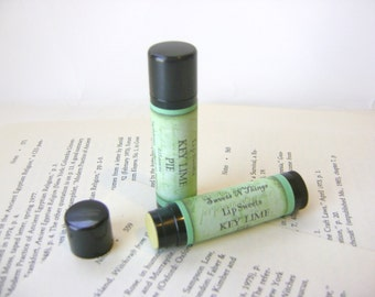 Key Lime Pie Lip Balm with Shea and Cocoa Butter