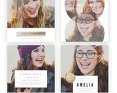 Modern Sneaks - Blog, Facebook and Instagram Sneak Peek Templates vol.2 (INSTANT DOWNLOAD)