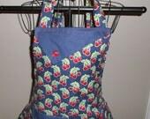 Cherries & Polka Dots Women's Apron