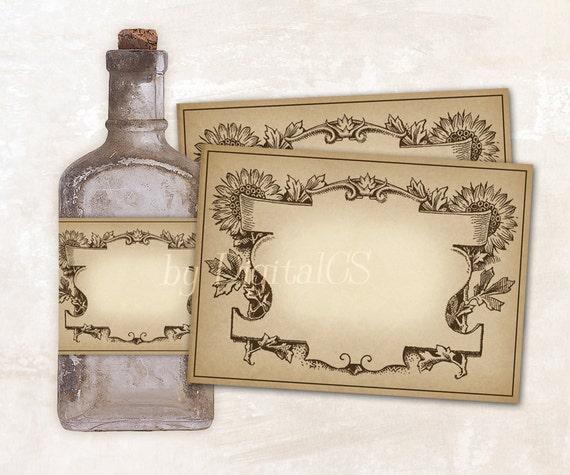 Printable Apothecary Labels For Jars Jar Labels Vintage