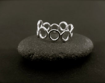 TiNy BuBBLeS RiNg...StErLiNg SiLvEr