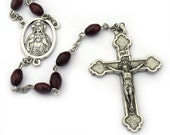 Sacred Heart of Jesus Wooden Rosary