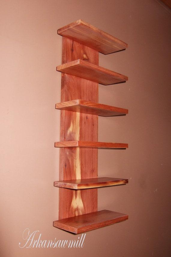 Cedar Eyeglass Wall Holder Display Rack by Arkansawmill on ...