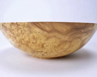 Birdseye Mulberry Burl Wooden Bowl 1402