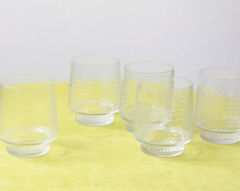 Vintage Set of East German Glasses