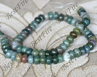 5x8mm India agate abacus nugget beads,stone beads,agate stone beads,gemstone beads loose strand 15inch