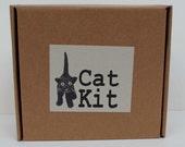 Needle felt a cat kit