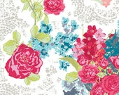 Nisi Flora in Aera  sk44602 - SKOPELOS by Katarina Roccella - Art Gallery Fabric  - By the Yard
