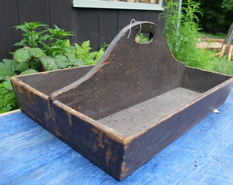 Antique Wooden Carry All