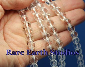 8mm Natural Quartz Crystal Beads 60415020
