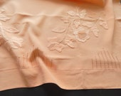 Vintage French Pillow Case in Silk Decadent Luxury