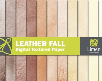 Leather Texture Digital Papers, Masculine Paper, Leather Background, Leather Digital Paper, Digital Leather Scrapbook Paper, Leather Paper