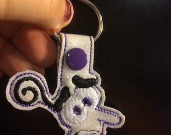 Fear key chain