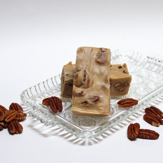 Maple Pecan Fudge 1 pound Smooth and Creamy Maple Candy by nwfudge