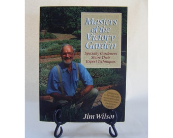 Masters of the Victory Garden Urban Garden Outdoors Vintage Book Yard Planter Summertime Horticulture Flowers Green Spring Herbs Trees Lawn