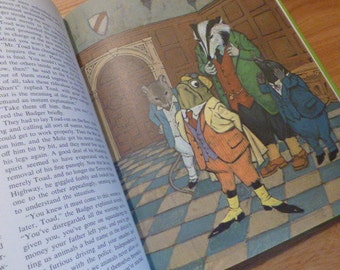 1967 Wind In The Willows by Kenneth Grahame Hard Cover