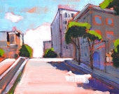 San Francisco Painting - Russian Hill