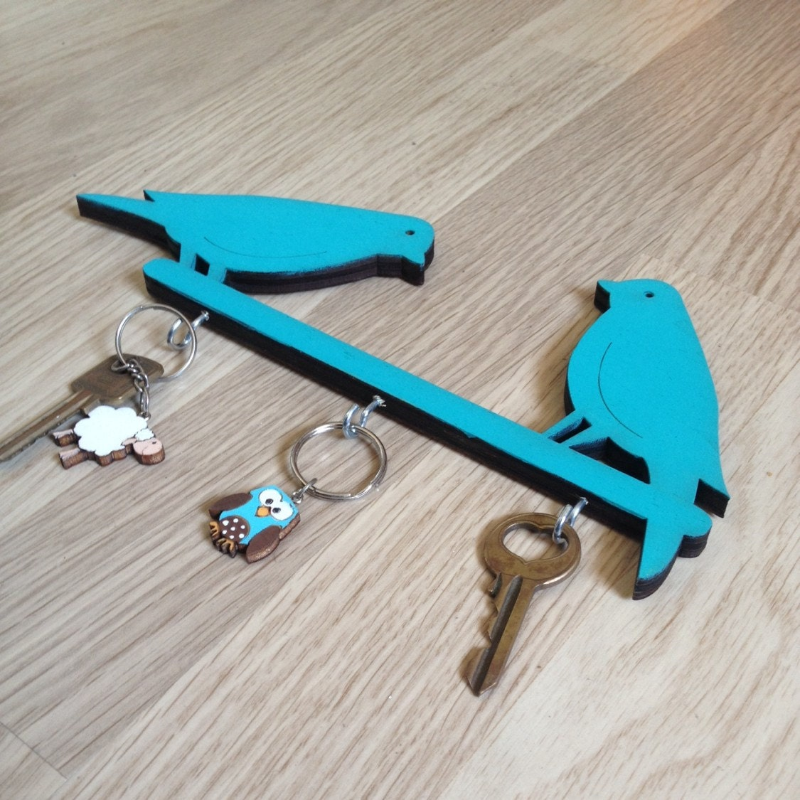 Key Hook Turquoise Home Decor Wall Key Holder Decorative
