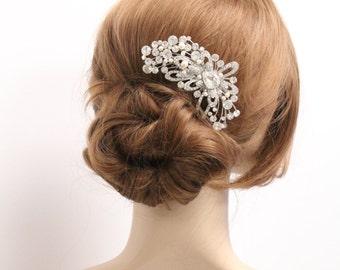 Hair comb pearl Bridal hair comb vintage Wedding hair comb Wedding headpiece Bridal hair piece Wedding comb Wedding hair accessories Bridal