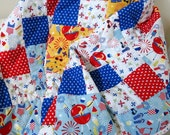 Quilted Throw - Summertime Fun