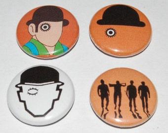 Clockwork Orange Button Badge 25mm / 1 inch Stanley Kubrick