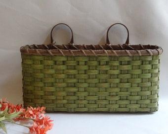 Large Wall Basket-Wall Decor- Handwoven Basket-Primitive Style
