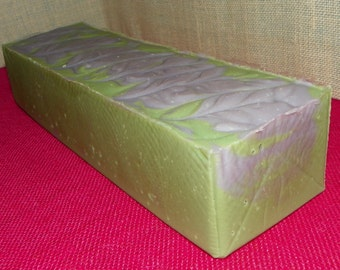 Oakmoss Whole 3.5 Pounds Milk Unisex Soap Loaf with Argan Oil and Shea Butter