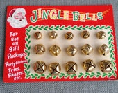 Vintage Card of Christmas Bells - Set of Three Sizes - Japan