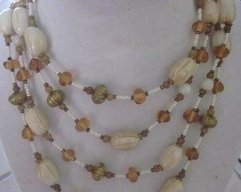 BEACH look necklace