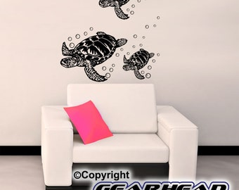 Sea Turtles- Wall Stickers