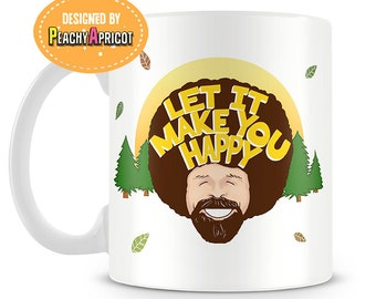 Bob Ross Nature mug - Officially licensed product - Fathers Day - Gift -  Bob Ross - Inspirational quotes - Nature Lover - Artist - Mug
