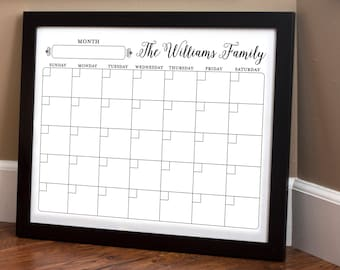Print Your Own - Family Calendar - Style 1.6