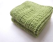 2  Cotton Crochet  Dishcloths...Crochet Wash cloth..Crochet Pattern ...Crochet bath and beauty...Crochet Kitchen Cleaning
