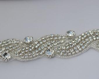 sash belt wedding rhinestone belt bridal sash belt bridal belt