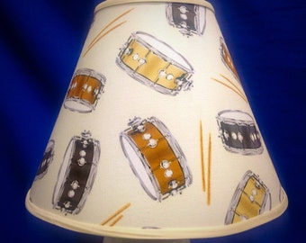 Drum Percussion Lamp Shade
